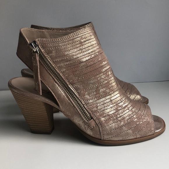 59321bc7278 Paul Green Cayanne Blush Metallic Sandals 7 4.5. M 5b5775031070ee09f24bc4c1